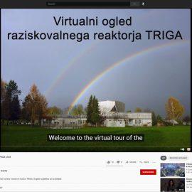 Virtualni ogled raziskovalnega reaktorja TRIGA